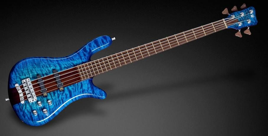 """Framus & Warwick Streamer Stage I 5 1"""" AAAA Quilted Maple/Swamp Ash Bleached Ocean Blueburst StHP"""