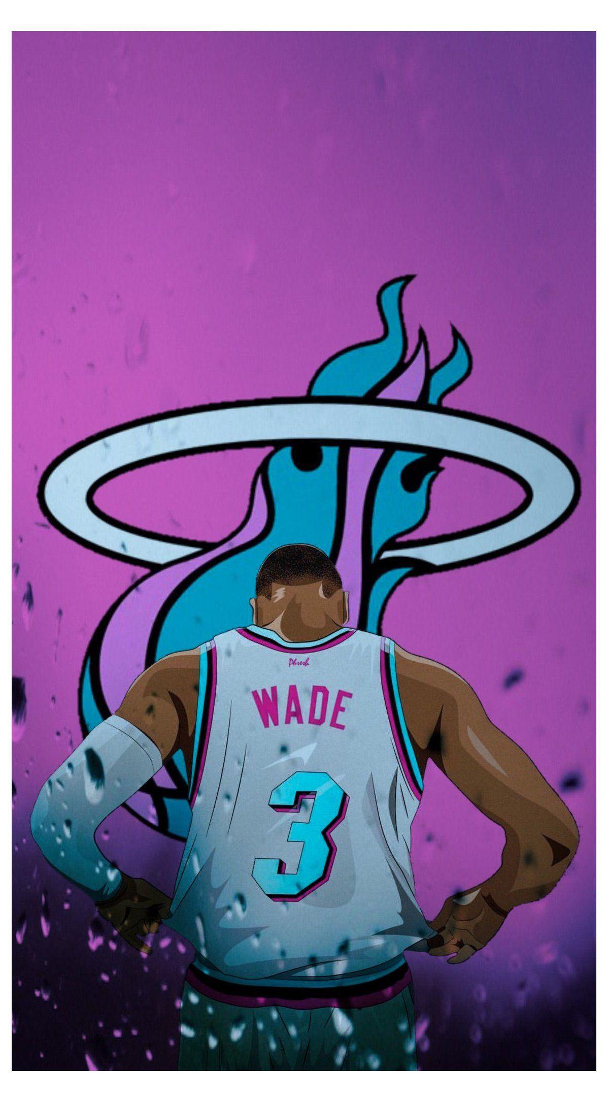 D Wade Miami Heat Wallpaper Wade Miami Heat Wademiamiheat In 2021 Miami Heat Basketball Miami Heat Miami Basketball