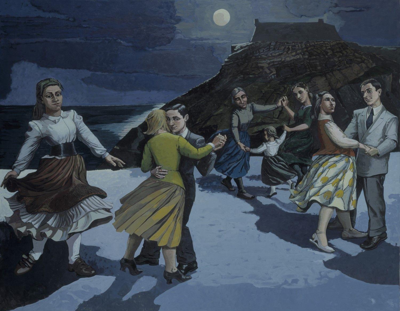 Paula Rego (b. 1935, Portugal) the Dance, 1988 (London, Tate)