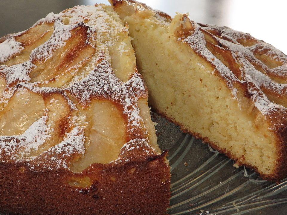 Apfelkuchen Schnell Und Fein Von Meusle Chefkoch Rezept Apfelkuchen Sehr Fein Weihnachtliche Kuchen Und Torten Apfelkuchen