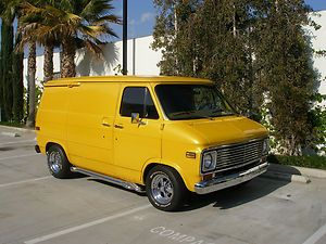 Chevrolet G20 Van Shorty Chevy Gmc Vans Custom Vans
