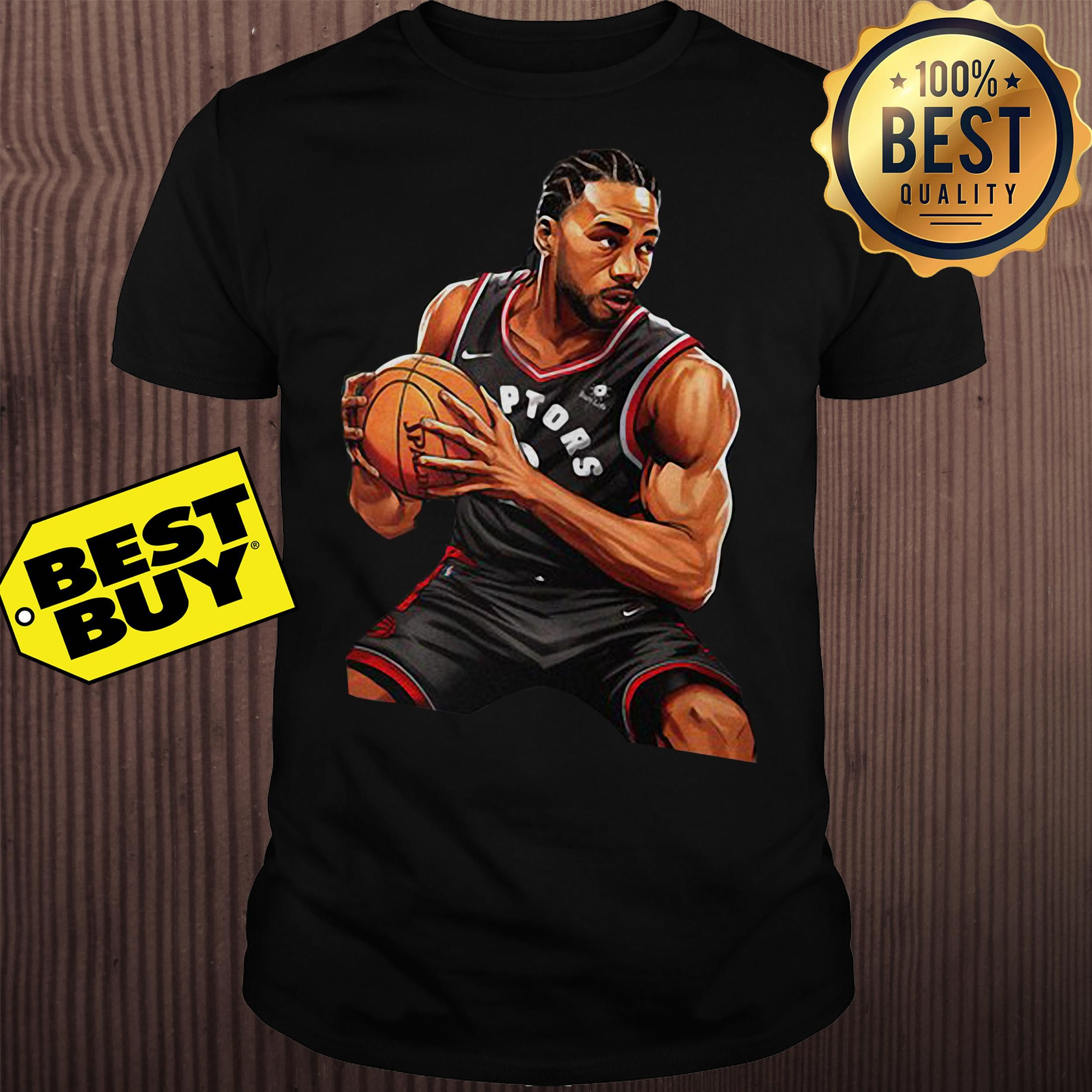 3e75eeff15b Kawhi Leonard Toronto Raptors Nike 2019 NBA Playoffs Bound Hero Shirt