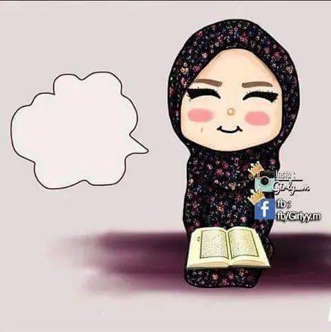 اجمل الصور الشخصية للفيس بوك للبنات المحجبات كرتون Girly Art Cute Love Cartoons Girly M