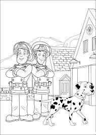 Coloriage Sam Le Pompier Caserne Tűzoltó Fireman Kids Fireman