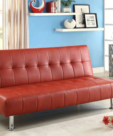 Best Love This Red Modern Futon Sofa By Furniture Of America On 640 x 480