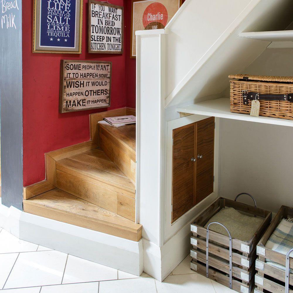 Narrow hallway storage solutions  Small hallway ideas  Ideal Home  Hallway ideas  Pinterest  Small