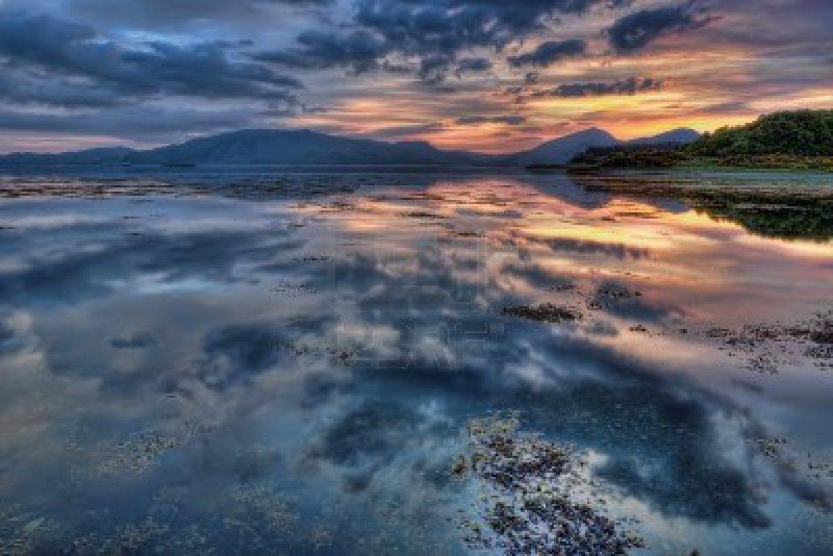 Sunset at Loch Linnhe  #Scotland #outlander #dianagabaldon