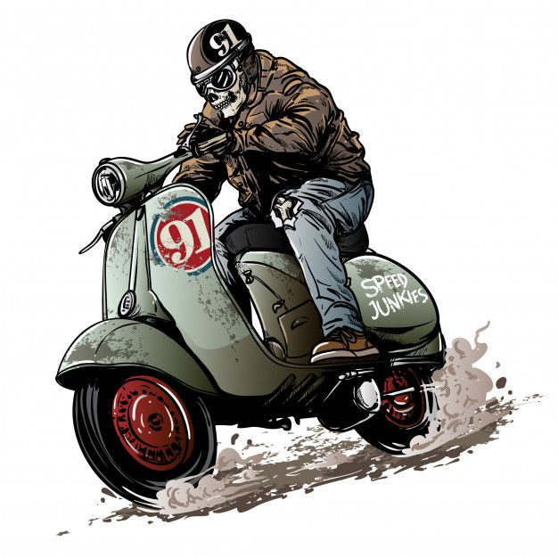 vintage scooter race vespa scooters vespa logo motorcycle drawing pinterest