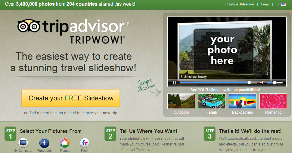 10 Sites To Make Free Photo Slideshow Online With Music Photo Slideshow Free Photos Photo