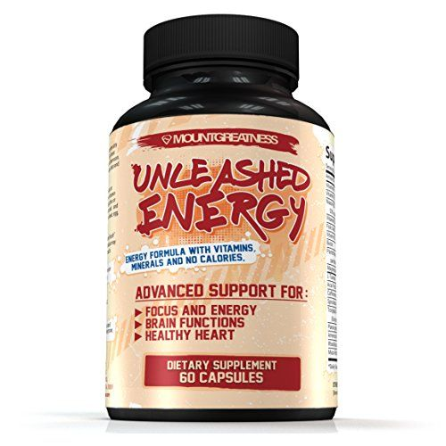 Unleashed Energy Advanced Support For Focus And Energy Brain