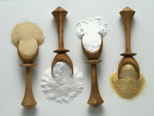 Do you need to replace one ingredient with another in a recipe? This is a table of ingredient substitutions that you can make when baking.