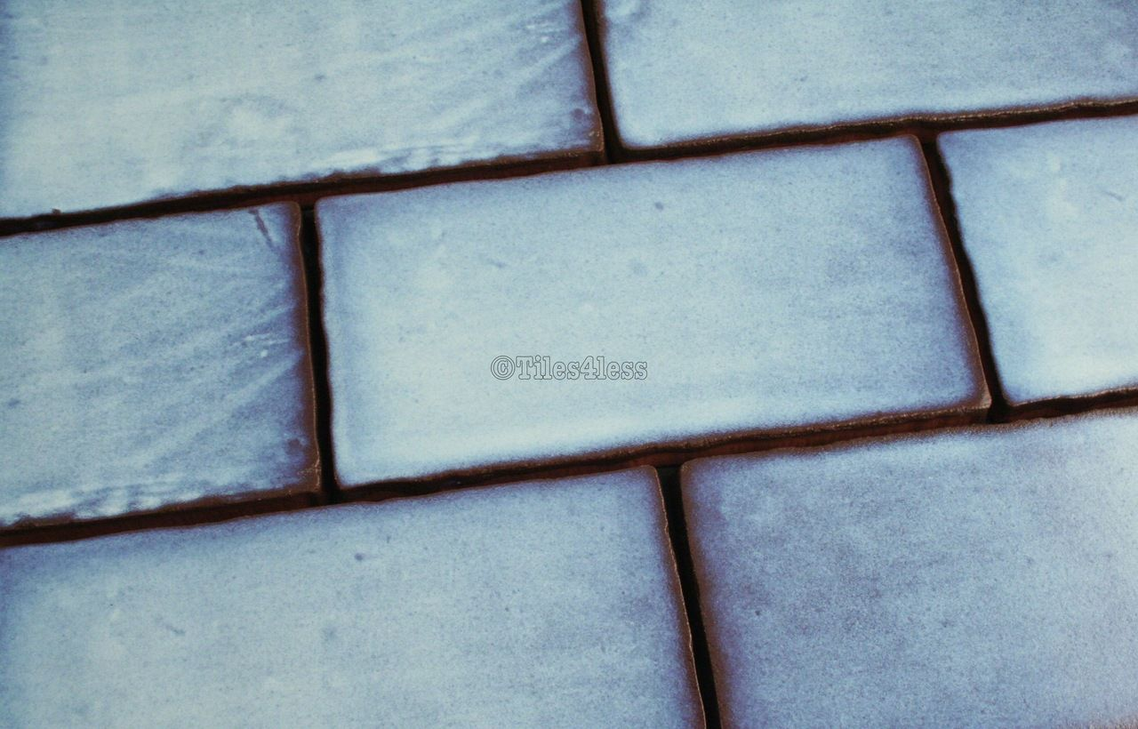 150x75mm Heritage Blue Wall Tile | Wall tiles, Blue walls and Tiles ...
