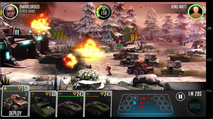 league of war mercenaries is a free to play android tactical war
