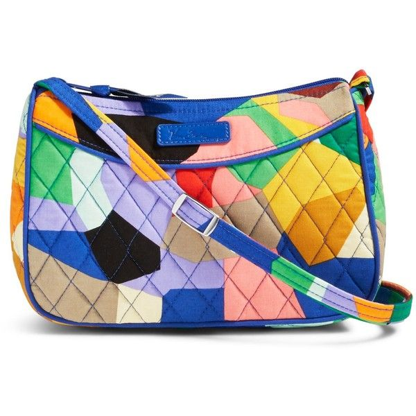 Vera Bradley Little Crossbody in Pop Art ($28) ❤ liked on Polyvore featuring accessories, pop art and vera bradley