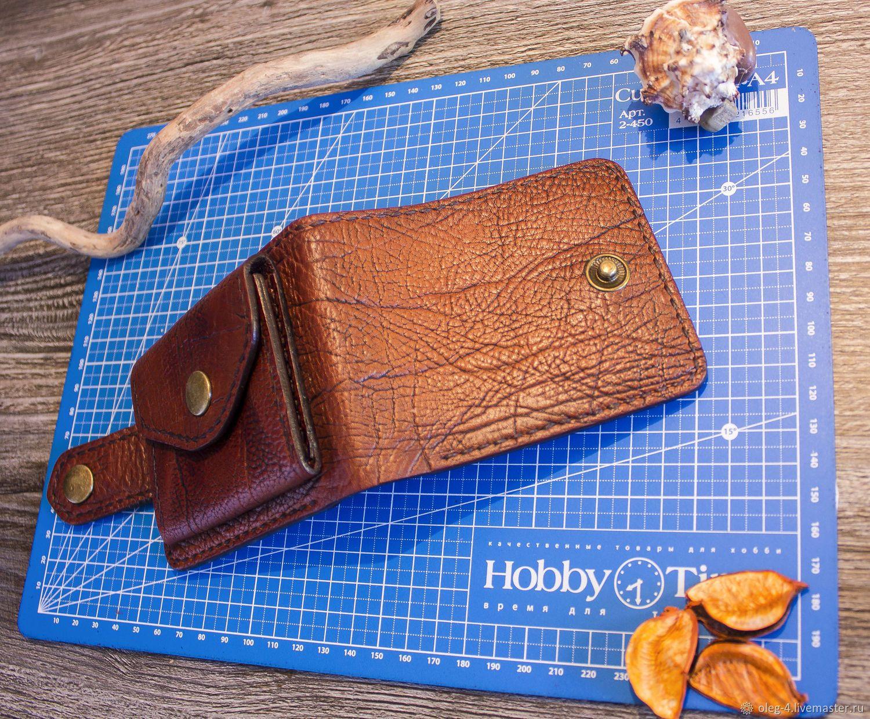 6d4ebd15d416 Мужской кожаный кошелёк – купить в интернет-магазине на Ярмарке Мастеров с  доставкой - IFSN5RU | Воронеж