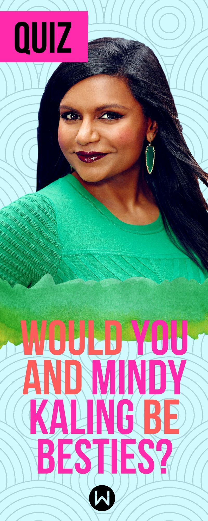 Quiz: Would you and Mindy Kaling be besties? About Yourself Quiz, Fun Quiz, Personality  Test, Random Questions, Personality Quiz, Girl Quiz, ...
