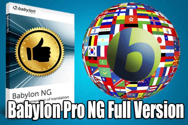 Download Babylon Pro Ng V 29 Key Tech Pc Computer Laptop Free Software Technology News Windows Windows10