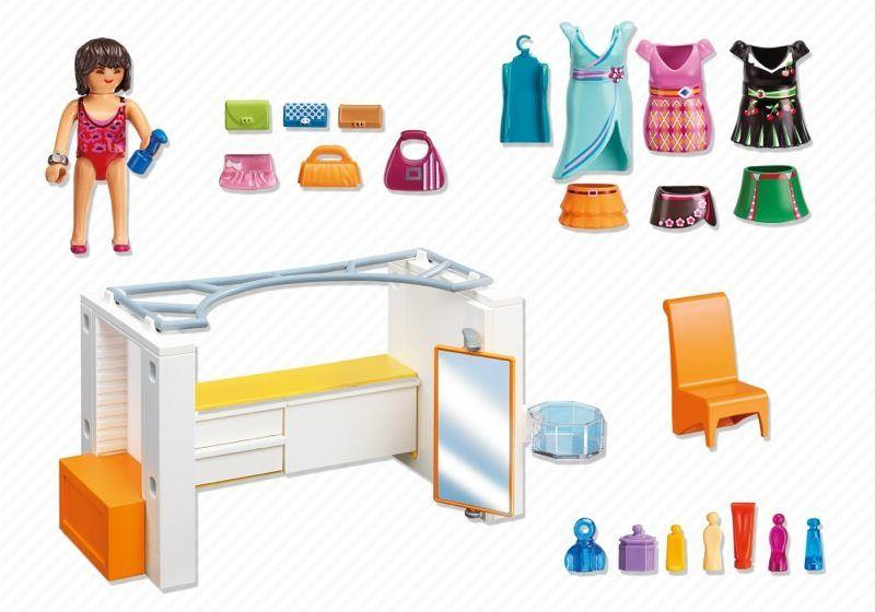 Playmobil 5576 Modern Dressing Room Back Playmobil Sets Playmobil Room