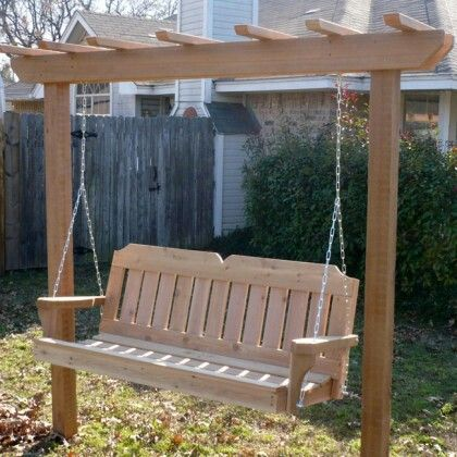 Free Standing Arbor Porch Swing Porch Swing With Stand