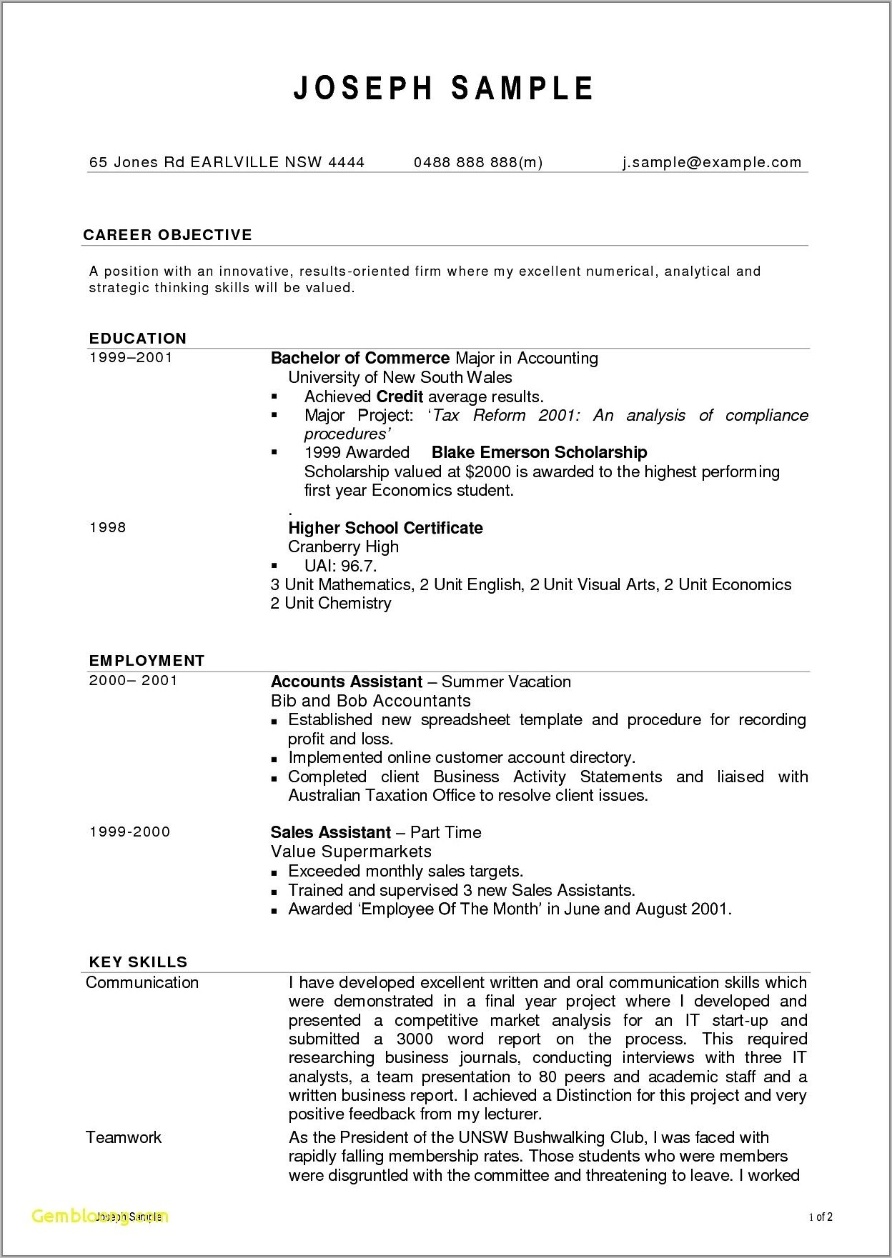 45 accounting resume entry level in 2020 accountant