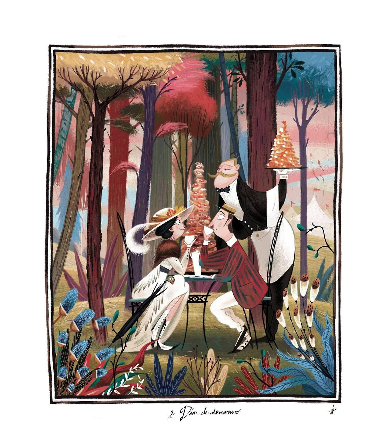 Liconoclaste in 2019 childrens book illustration