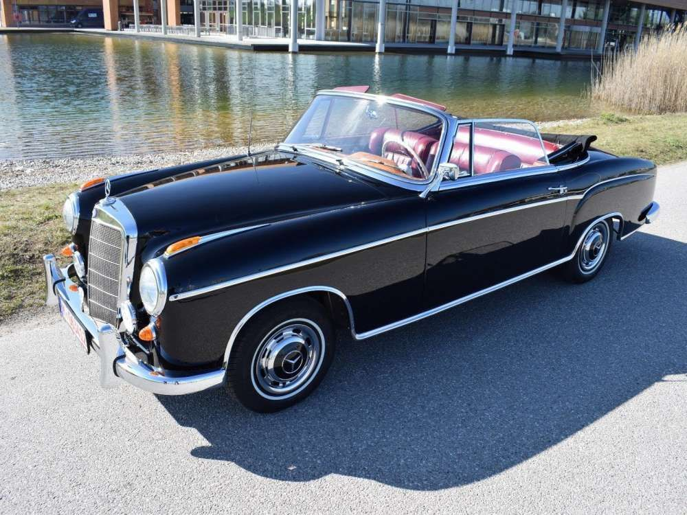 1959 Mercedes Benz Ponton 220se Cabriolet Classic Top Condition