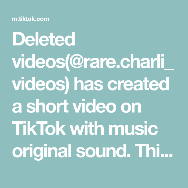 Deleted Videos Rare Charli Videos Has Created A Short Video On Tiktok With Music Original Sound This In 2020 Heatless Waves Overnight Heatless Waves Overnight Waves