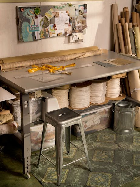 Find It: The Best Work Table For A Sewing Studio Or Craft Space | Made