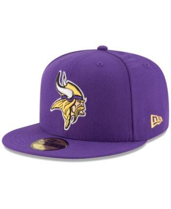 New Era Minnesota Vikings Team Basic 59FIFTY Fitted Cap - Purple 7 1 4 125794f52936