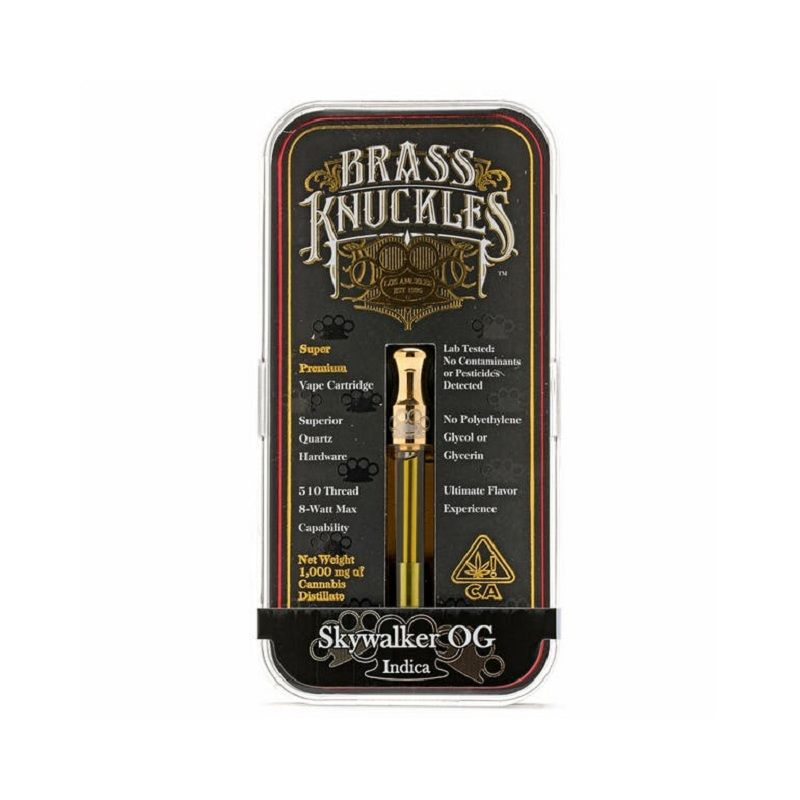 Skywalker Og 1000mg Brass Knuckles Vape Vape Online