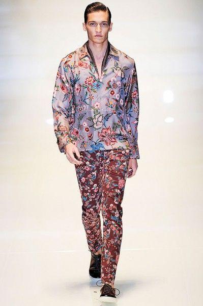 Gucci (masculino) primavera-verão 2014