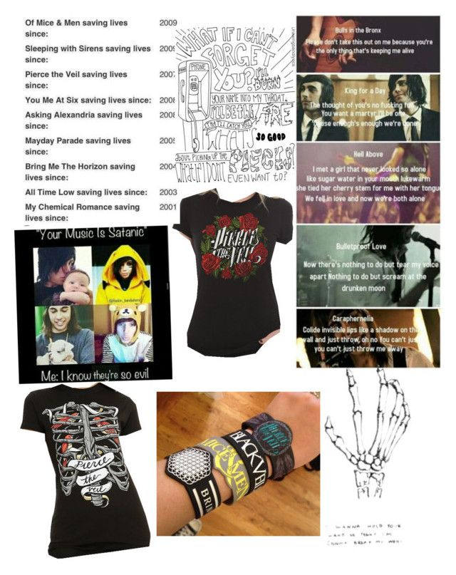 """Bands!❤️"" by abbyc-123 on Polyvore"