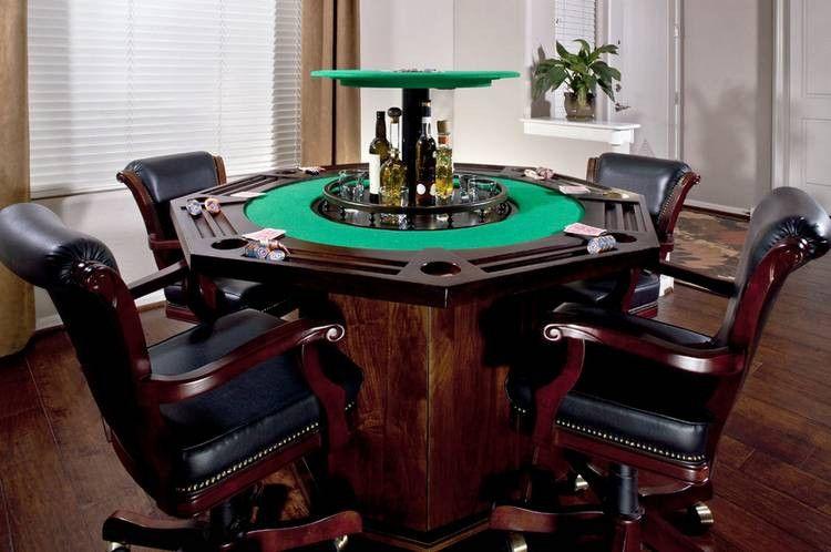 Man Cave Poker Table Poker Table Man Cave Home Bar Custom