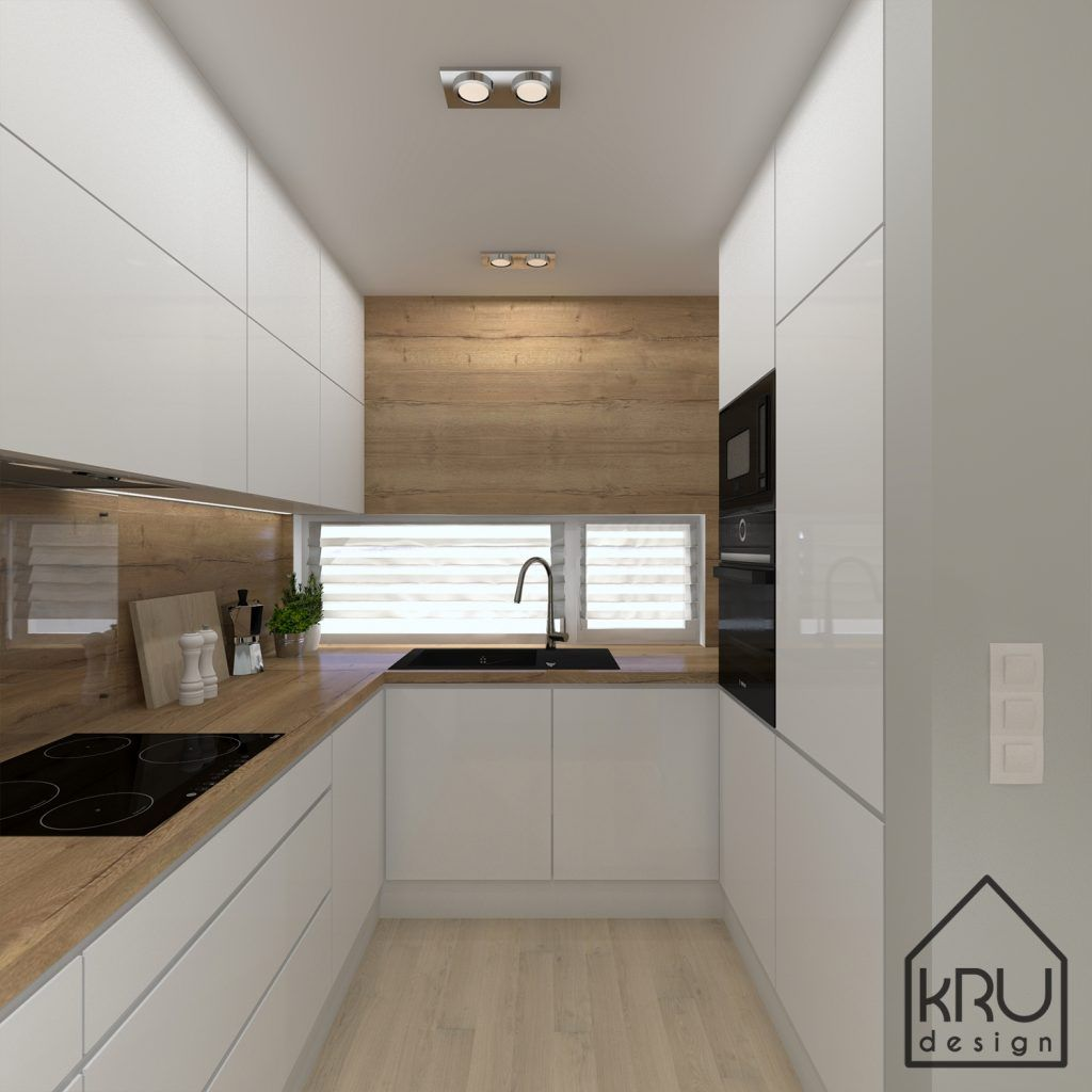 Zakres Projektu Kuchnia 2 Wersje Kru Design Kitchen Remodel Small Kitchen Interior Modern Kitchen