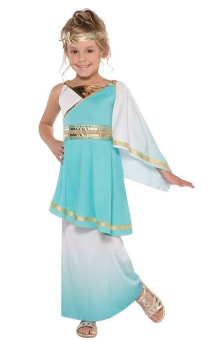 venus girls goddess fancy dress costume 97013 karnival costumes egyptian - Egyptian Halloween Costumes For Kids