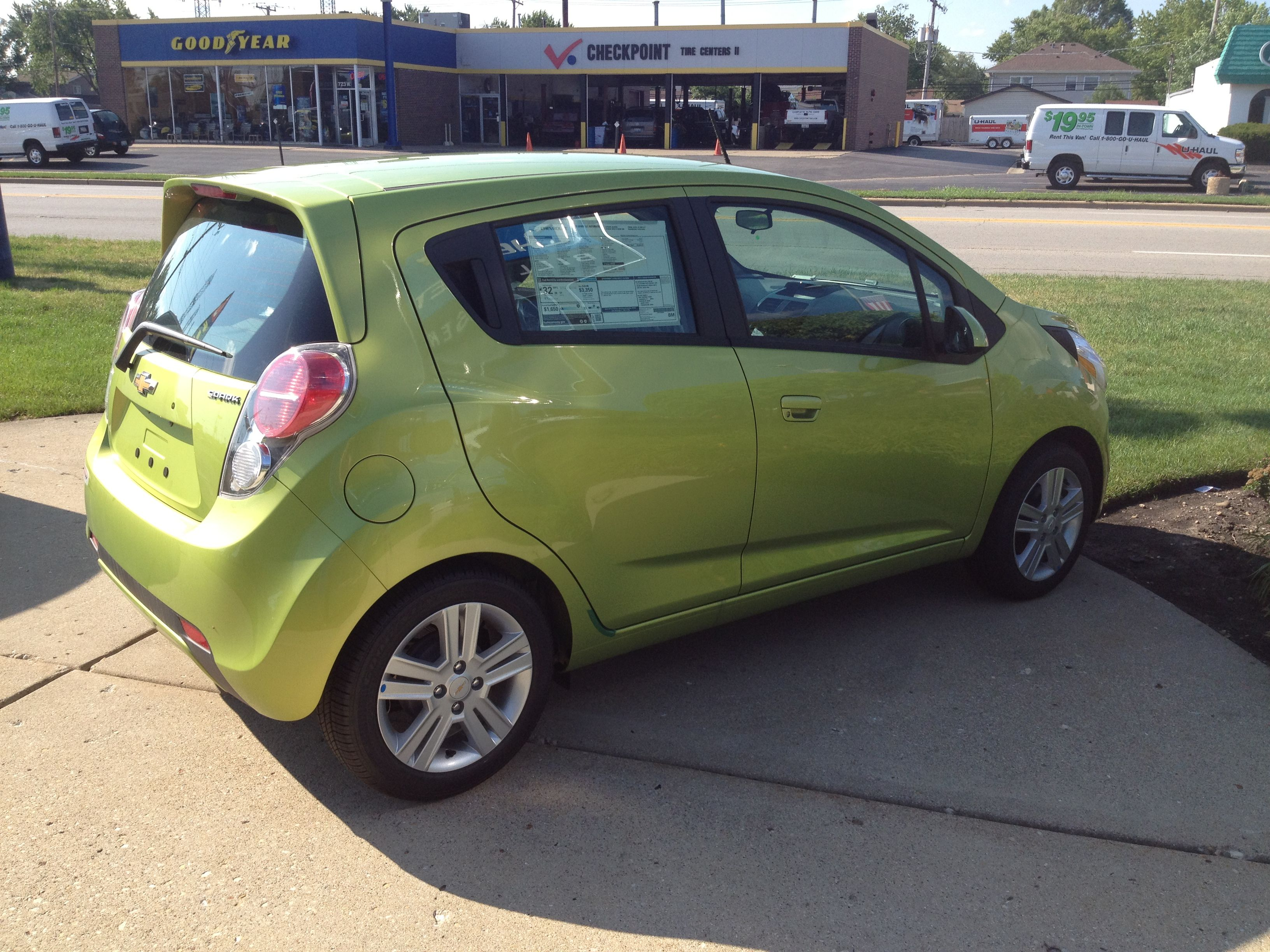 Http Www Chevrolet Com Spark Mini Car Html New Jalapeno Green