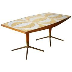 Midcentury Mosaic Dining Table  Home  Pinterest  Mosaics Mid Cool Mosaic Dining Room Table Decorating Inspiration