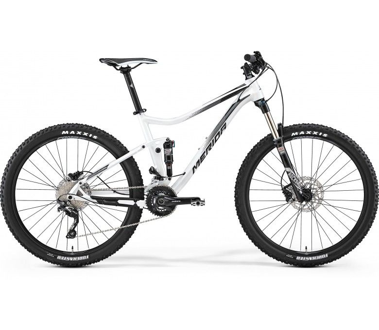 Merida One Twenty 7600 Mountain Bike Pearl White Black 2017