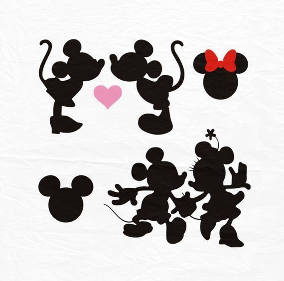 Download Minnie Mickey Kiss SVG, Kiss svg, Minnie Mickey Love SVG ...