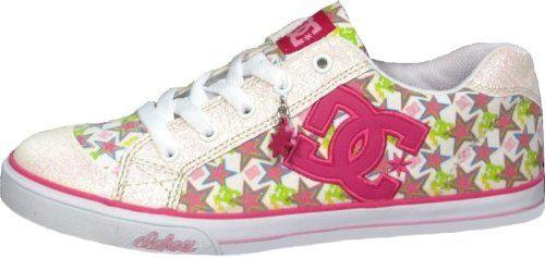 DC Skateboard Schuhe- Chelsea-- White/Crasy Pink - http://on-line-kaufen.de/dc-universe/dc-skateboard-schuhe-chelsea-white-crasy-pink