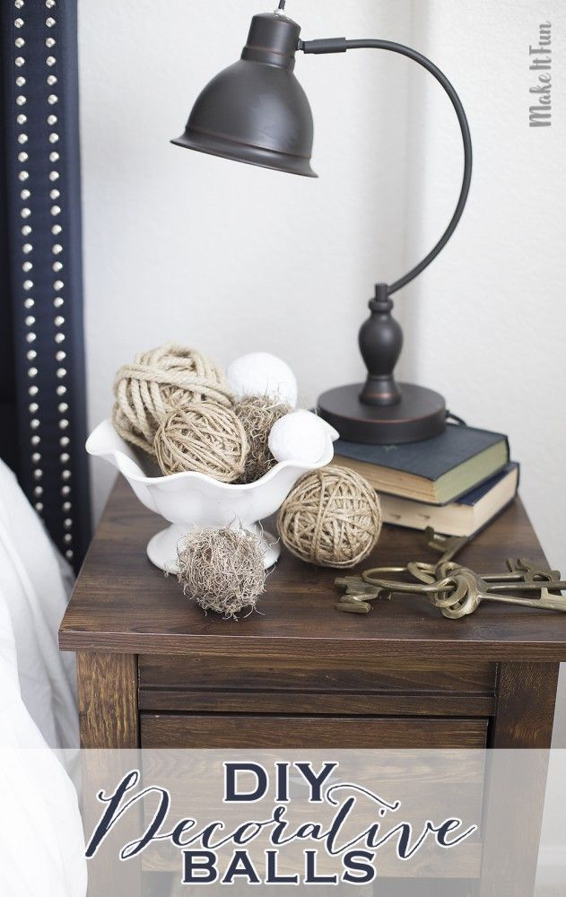 Quick And Easy Diy Decorative Balls For Home Decor