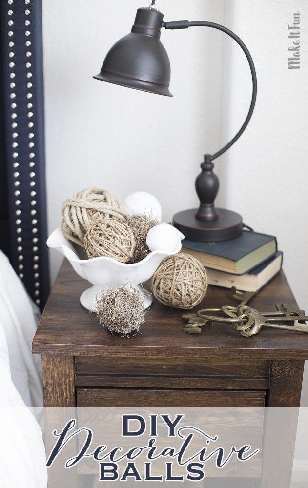 Home Decor Balls Quick And Easy Diy Decorative Balls For Home Decor