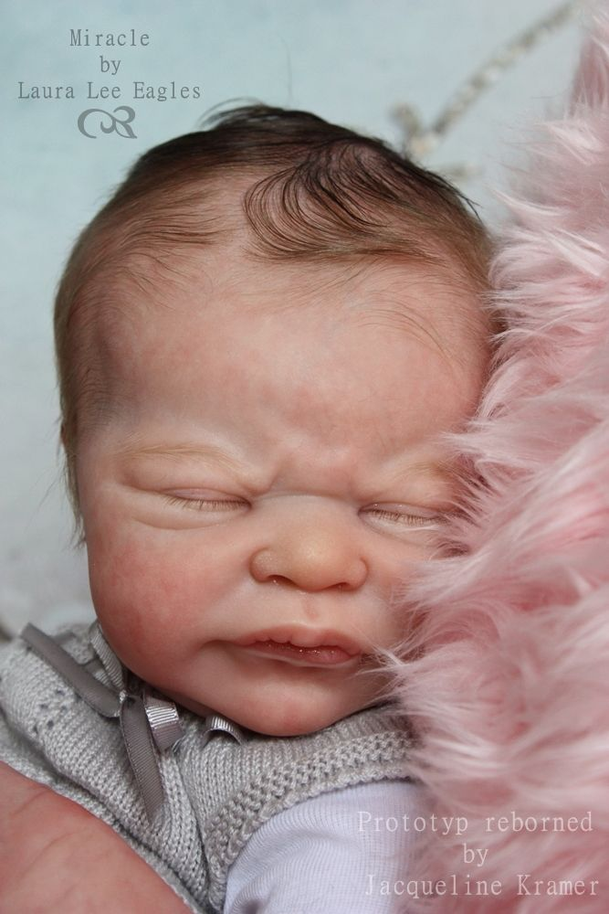 dcf08b033fbb Prototype Miracle by Laura Lee Eagles. Find this Pin and more on Reborn  Baby Dolls ...
