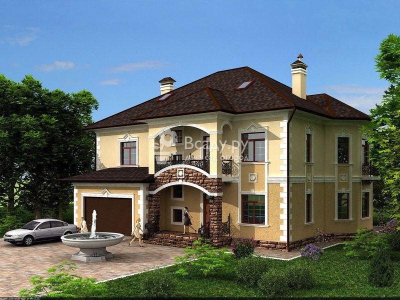 d94f2f0b5f0 Коттеджи фото и проекты частных домов, дизайн экстерьера | Крыша in ...