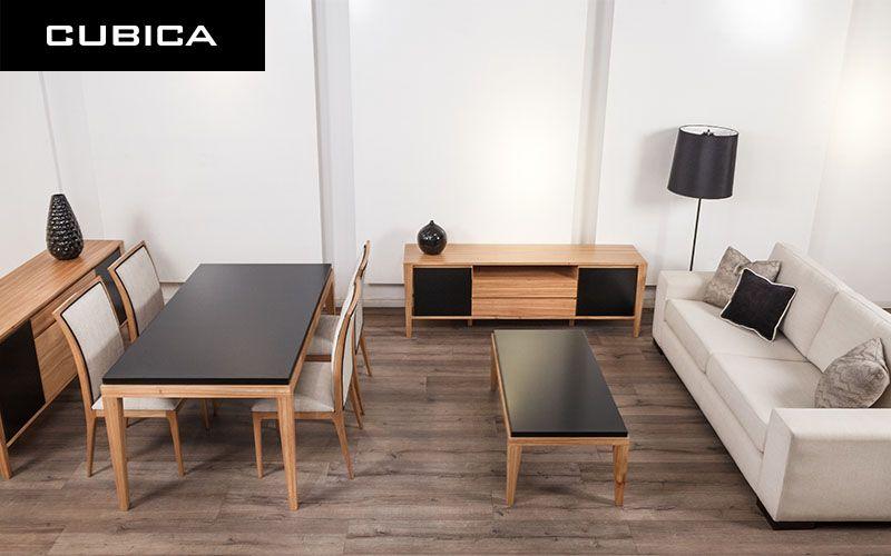 Moderno y minimalista Mesa de comedor Klimt, Sillas Frida, Mesa - mueble minimalista