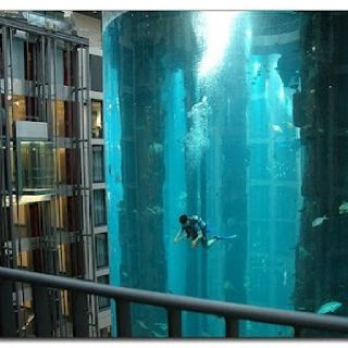 World's Largest Aquarium - Radisson Blu Hotel - Berlin