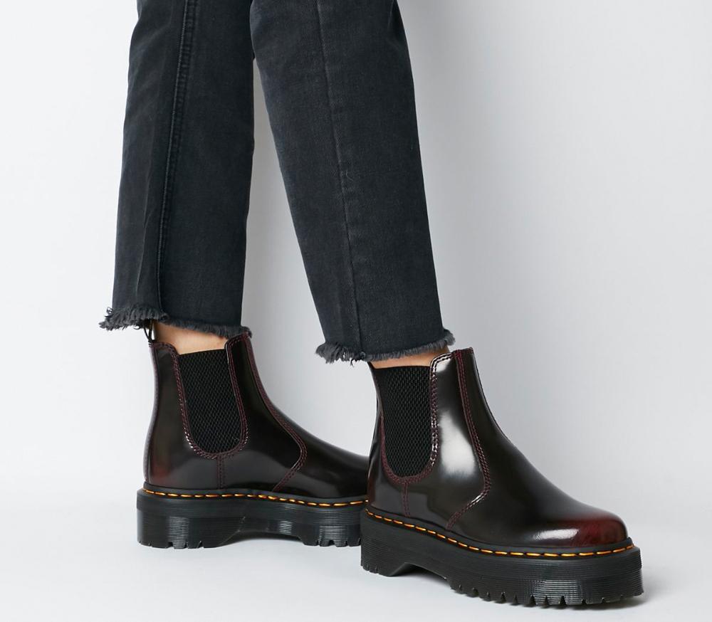 2976 Arcadia Platform Chelsea Boots