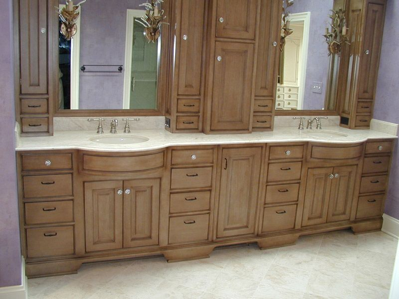 Carter Builds A Custom Vanity To Fit Perfectly Within This Bathroom.  Descriptionu2026