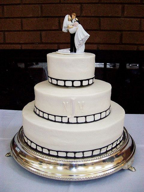 Movie Themed Wedding Filmstrip Cake Flickr Photo Sharing