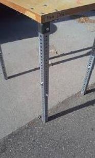 Adjustable Table Legs Homemade Adjustable Table Legs Constructed